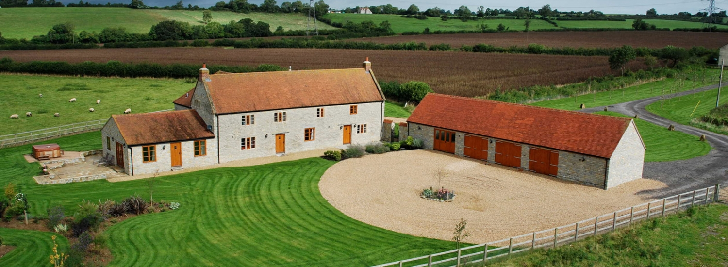 Exterior photograph of Lower Hedge Farm